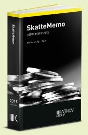 skattememo september 2015 - bog