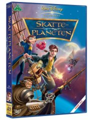 skatteplaneten / treasure planet - disney - DVD
