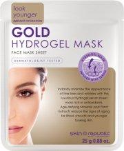 skin republic gold hydrogel face sheet mask - Hudpleje