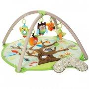 skip hop aktivitetstæppe / legetæppe til baby - tree top friends - Babylegetøj