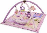 skip hop aktivitetstæppe / legetæppe til baby - lyserød - Babylegetøj