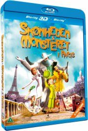 skønheden og monsteret i paris / a monster in paris - Blu-Ray