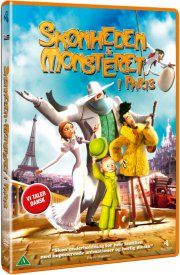 skønheden og monsteret i paris / a monster in paris - DVD