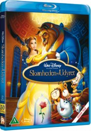 beauty and the beast / skønheden og udyret - disney - Blu-Ray