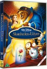 beauty and the beast / skønheden og udyret - disney - DVD