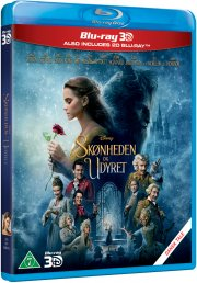skønheden og udyret - 2017 / beauty and the beast - 3D Blu-Ray