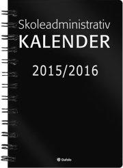skoleadministrativ kalender 2015-2016 - bog