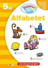 skoleklar lektiehjælper: alfabetet - bog