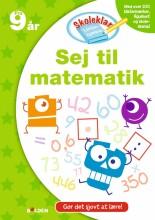 skoleklar lektiehjælper: sej til matematik - bog