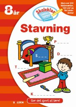 skoleklar lektiehjælper: stavning - bog