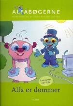 skrivevejen, alfabøgerne, alfa er dommer - bog