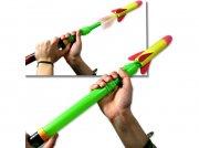 raket legetøj af skum med affyring - Udendørs Leg