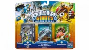 skylanders giants - battle pack w1 - shroomboom, cannon, chop chop - Skylanders