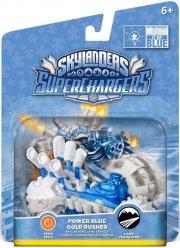 skylanders superchargers vehicle - power blue gold rusher - Skylanders