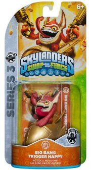 skylanders swapforce figurer - trigger happy - Skylanders