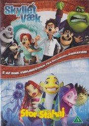 skyllet væk // shark tale - DVD