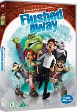 skyllet væk / flushed away - DVD
