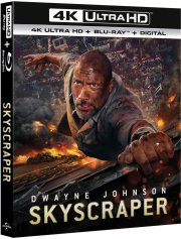 skyscraper - the rock - 2018 - 4k Ultra HD Blu-Ray