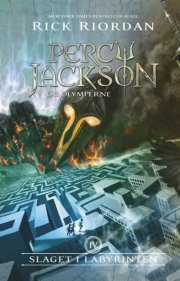percy jackson 4 - slaget i labyrinten - bog
