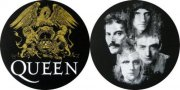 slipmat til pladespiller - queen crest & faces - Merchandise