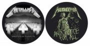 slipmat til pladespiller - master of puppets & and justice for all - Merchandise