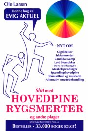 slut med hovedpine, rygsmerter og andre plager - bog