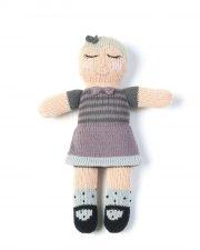 smallstuff strikket dukke - 30 cm - julie - Dukker