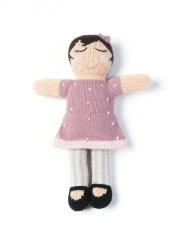 smallstuff strikket dukke - 30 cm - matti - Dukker