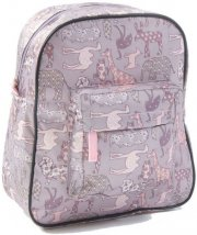 skoletaske / rygsæk - smallstuff - lille - rosa/dyr - Babyudstyr