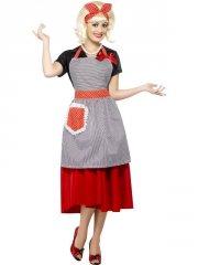 smiffys - 50's housewife honey kit (22760) - Udklædning Til Voksne