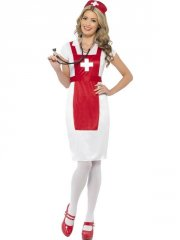smiffys - a and e nurse costume - small (43822s) - Udklædning Til Voksne