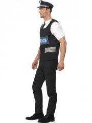 smiffys - policeman instant kit - medium (38833m)  - Udklædning Til Voksne