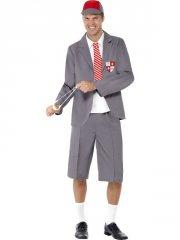 smiffys - schoolboy costume - medium (31082m) - Udklædning Til Voksne