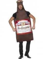 smiffys - studmeister beer bottle costume (20391) - Udklædning Til Voksne
