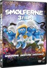 smølferne 1 // smølferne 2 // smølferne 3 - den hemmelige landsby - DVD