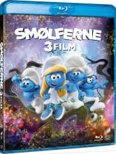 smølferne 1 // smølferne 2 // smølferne 3 - den hemmelige landsby - Blu-Ray