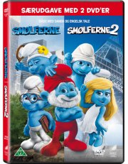 smølferne / the smurfs 1+2 - DVD