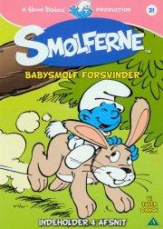 smølferne 21 - babysmølf forsvinder - DVD