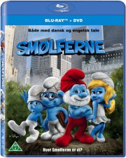 smølferne / the smurfs  - BLU-RAY+DVD