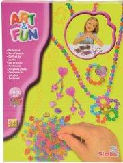 smykke perler til børn - 1000 stk - Kreativitet