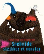 snehvide strikker et monster - bog