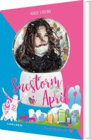 snestorm i april - bog