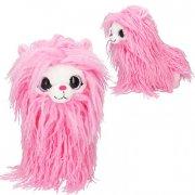 snukis - polly the alpaca - pink - 21 cm. - Bamser