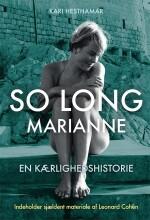 so long marianne - en kærlighedshistorie - bog