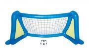 oppustelig fodboldmål - 254 cm - Bade Og Strandlegetøj