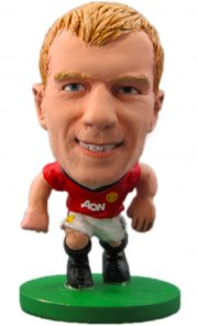 soccerstarz - manchester united paul scholes - home kit (series 1) - Figurer