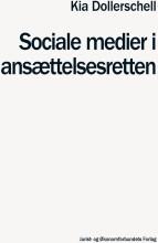 sociale medier i ansættelsesretten - bog