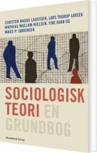 sociologisk teori - en grundbog - bog