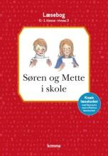 søren og mette i skole læsebog: niv 3 - rød. 0.-1. kl - bog