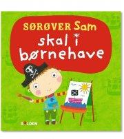 sørøver sam skal i børnehave - bog